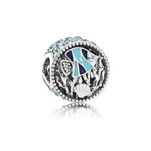 RETIRED Authentic Pandora Ocean Life CZ Charm